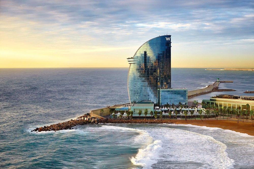 Review W Hotel Barcelona Spain Pointstravels